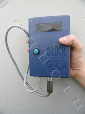 e-lock gold electronic seals