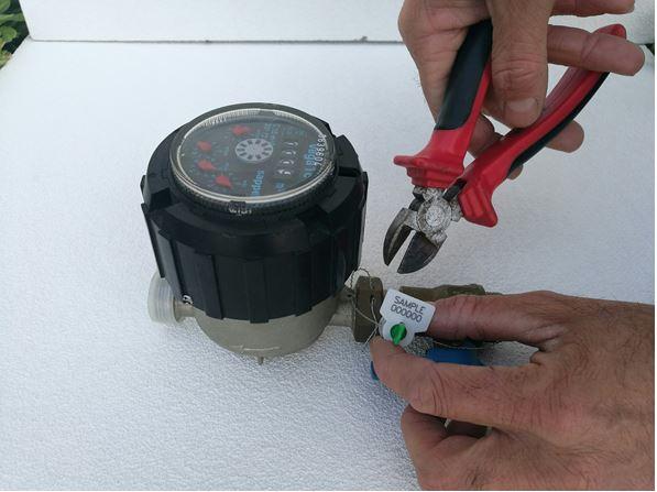 sigilli per contatori acuqa luce gas