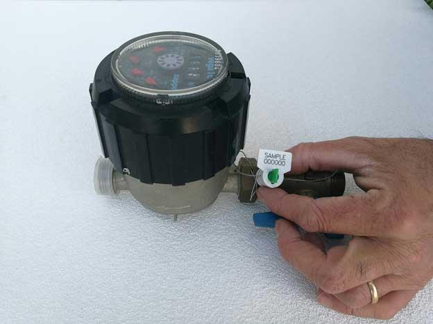 sigilli a filo per contatori acuqa luce gas