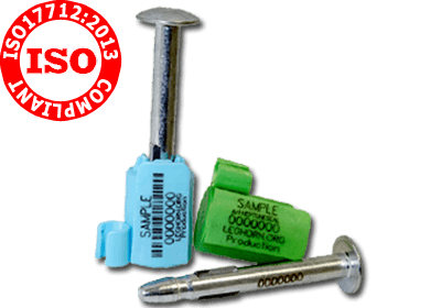 sigilii ISO 17712: 2013