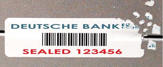 etichette adesive garanzia