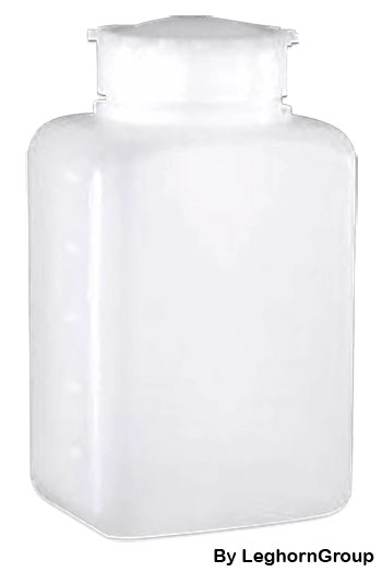 bottiglie di sicurezza rettangolari