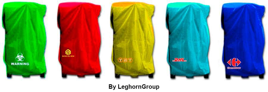 cappucci copri pallet bologna colori personalizzazioni
