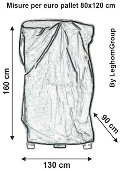 cappucci copri pallet bologna disegno tecnico