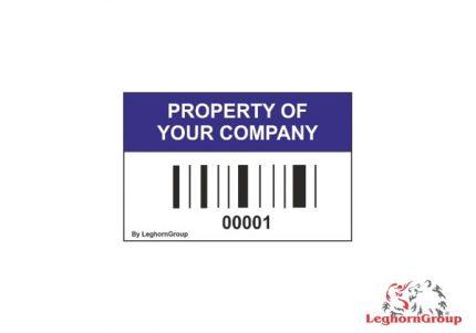 etichette adesive con codice a barre
