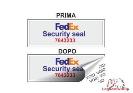 etichette per container