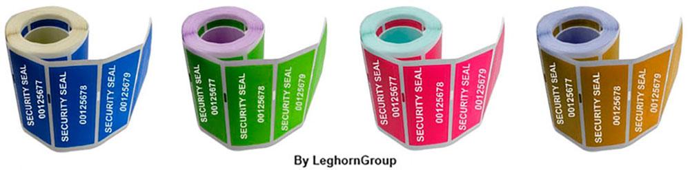 etichette sicurezza void rilascio inchiostro
