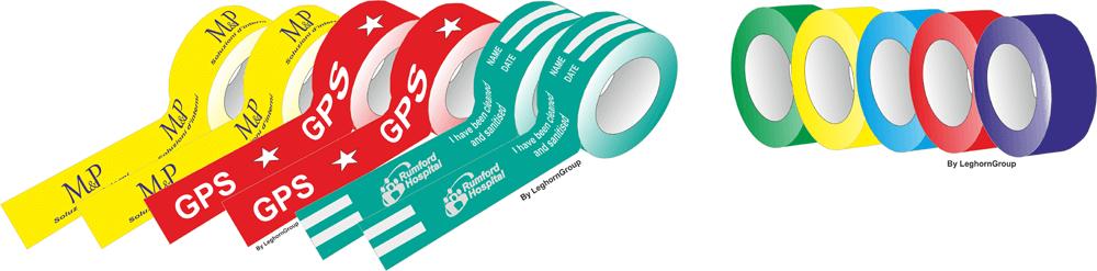 nastri adesivi colorati personalizzati