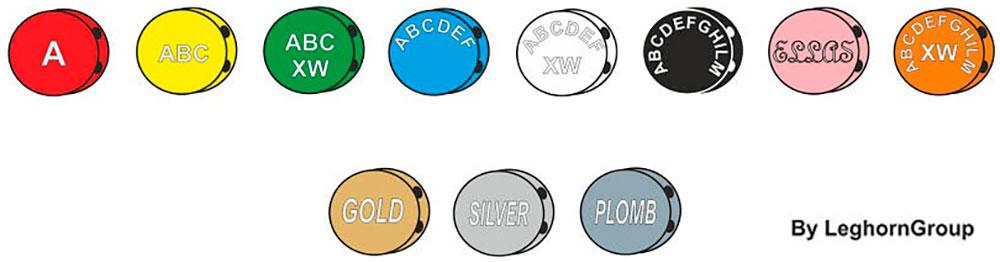 piombini colorata plombex colori personalizzazioni