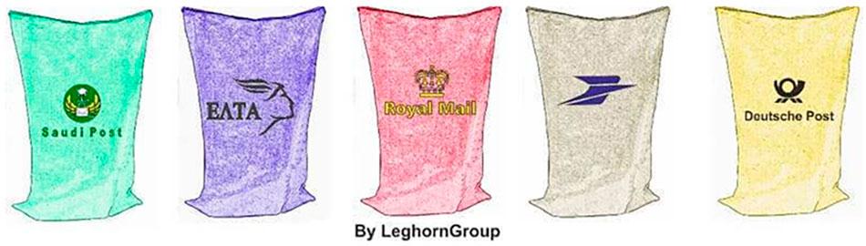 sacchi postali athens colori personalizzazioni