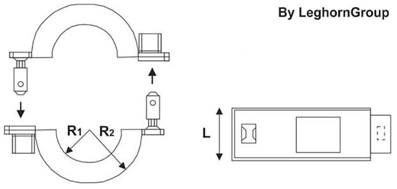 sigilli filo per contatori gas connectionlock disegno tecnico