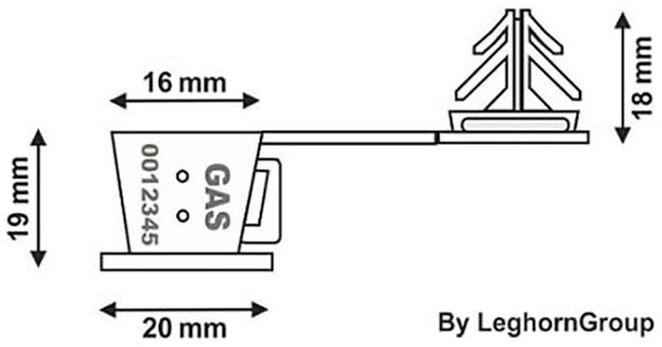 sigilli filo plastica anchorclick disegno tecnico