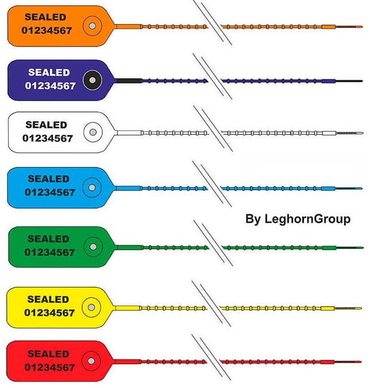 sigilli in plastica regolabile scite seal colori personalizzazioni