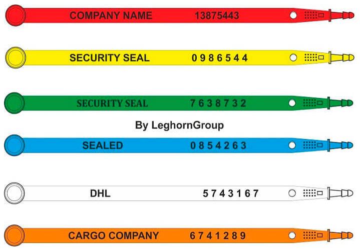 sigilli lunghezza fissa car seal ww003 colori personalizzazioni