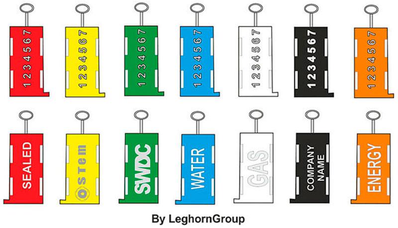 sigilli per contatori triton seal colori personalizzazioni