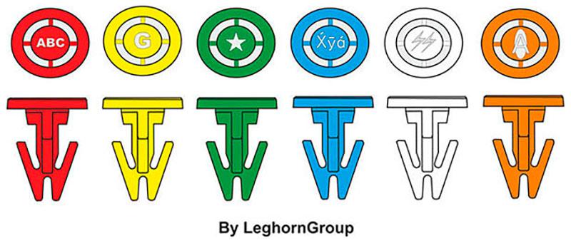 sigilli plastica per casse totebox seal 14 mm colori personalizzazioni