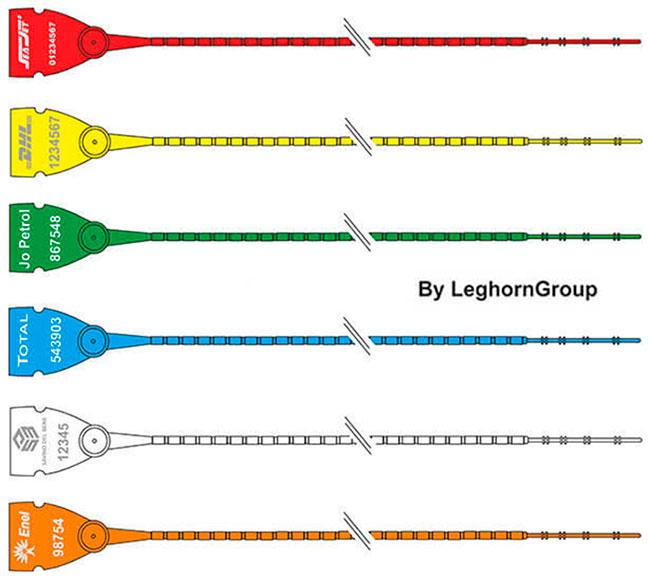 sigilli plastica regolabile scite seal lgh colori personalizzazioni