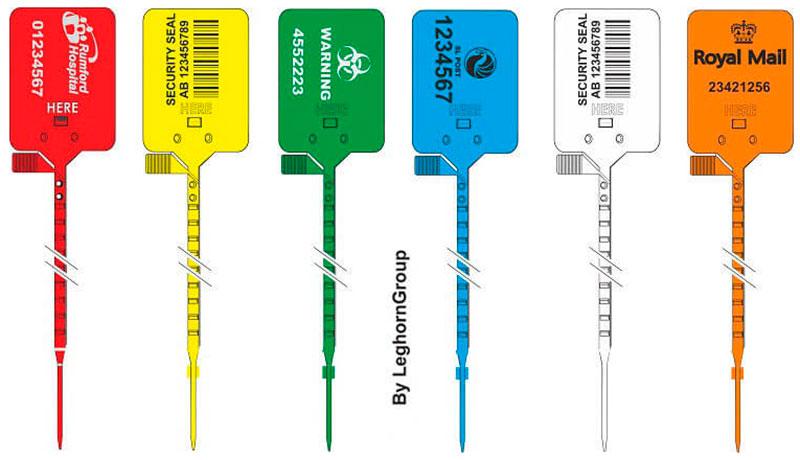 sigilli plastica regolabile titan seal colori personalizzazioni