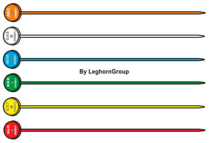 sigilli regolabili per contatori merope seal colori personalizzazioni