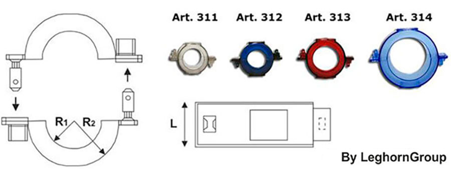 sigilli rfid nfc contatori energia connection lock