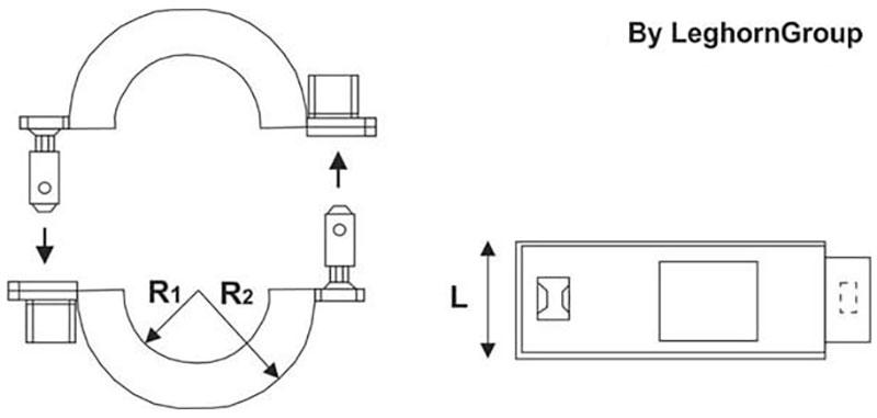 sigilli rfid nfc contatori energia connection lock disegno tecnico