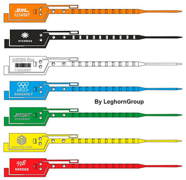 sigilli sicurezza plastica simple seal colori personalizzazioni