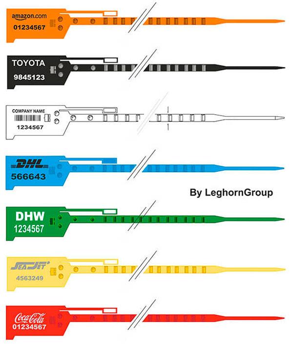 sigilli sicurezza regolabile plastica easytight colori personalizzazioni