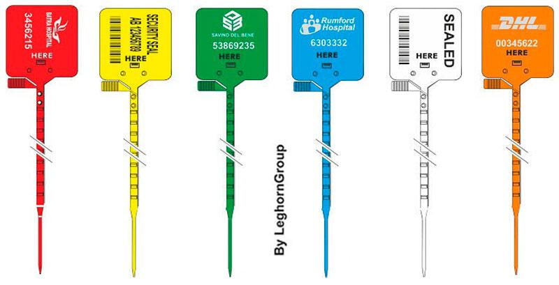 sigilli sicurezza regolabile plastica heraklis colori personalizzazioni