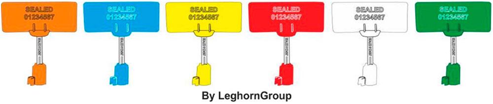 sigillo chiodo rfid container iso neptune seal colori personalizzazioni