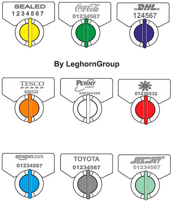 sigillo filo twist seal colori personalizzazioni