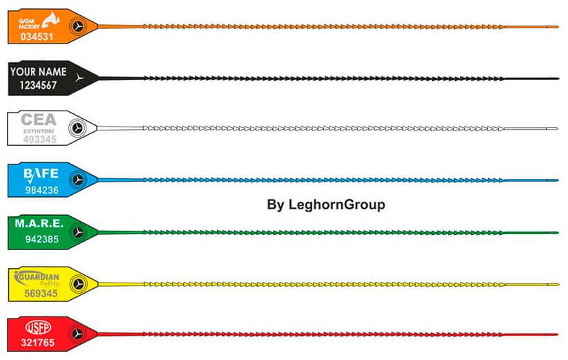 sigillo plastica per estintori twiggy seal colori personalizzazioni