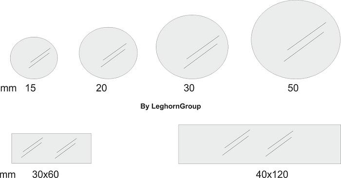 etichette di sicurezza ultradistruttibili disegno tecnico