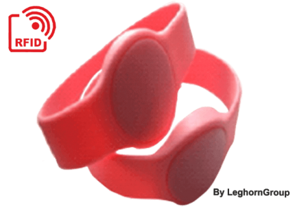 bracciale in silicone rfid hf