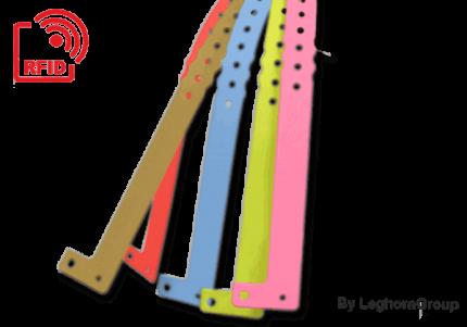braccialetti in plastica rfid