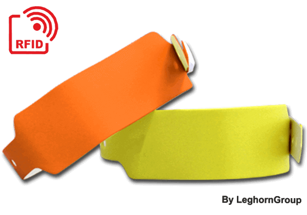 BRACCIALETTI RFID LF/HF/UHF IN PVC