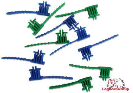 chiusura manuale in plastica riutilizzabile per contenitori postalblock