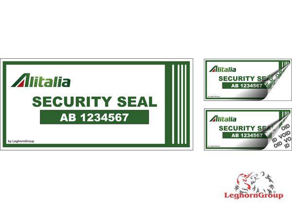 Etichette Di Sicurezza Per Compagnie Aeree Ed Aereoporti
