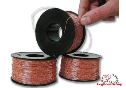 filo spiralato nylon rame