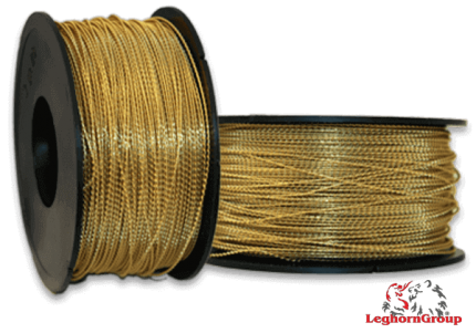 filo spiralato ottone