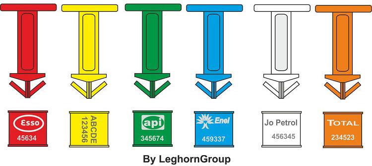sigilli di plastica per bidoni drumseal colori personalizzazioni
