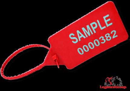 sigilli di plastica regolabile titanseal 424 mm