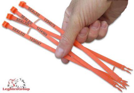 sigilli di sicurezza in plastica hornseal