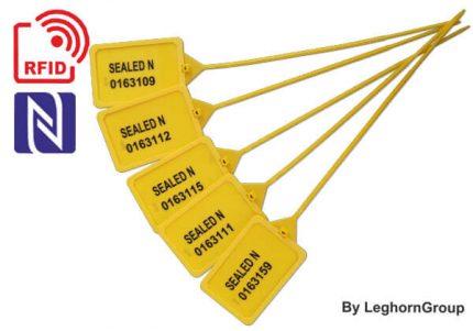 sigilli di plastica regolabile titanseal rfid 424 mm