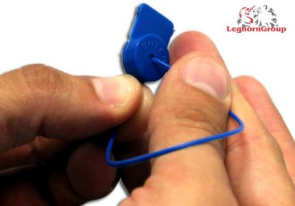 sigilli polipropilene per contatori alcyoneseal