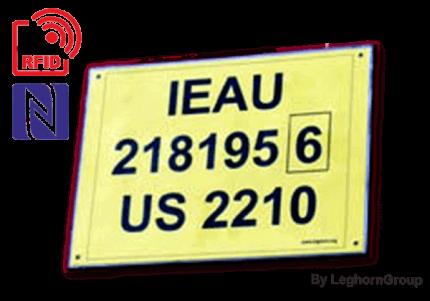sigilli rfid etichetta per container tagete