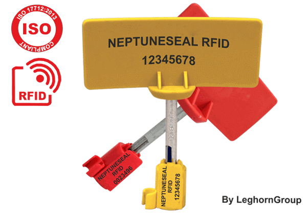 Sigillo A Chiodo RFID Per Container ISO/PAS 17712 Neptuneseal