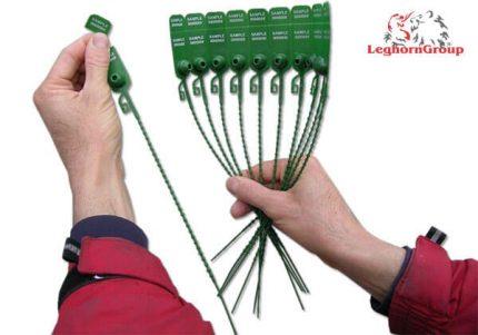 sigillo regolabile plastica doppia numerazione frissoseal 315 mm