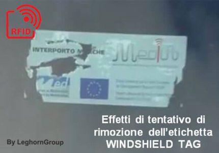 windshield tag rfid uhf