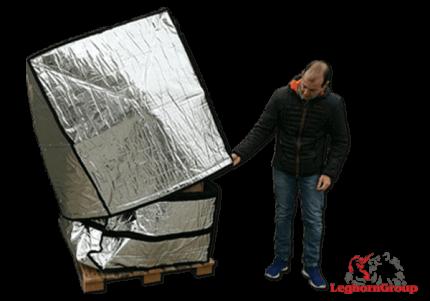 aluminum pallet cover art td 005