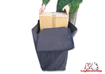 borsa proteggi colli cartoni scatole art lyon